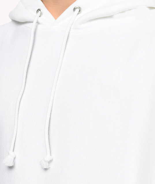 High Quality White Hoodie custom Cotton Mens hoodies