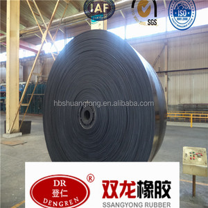 Industry Conveyor Use Weight Ep Rubber Coated Belts