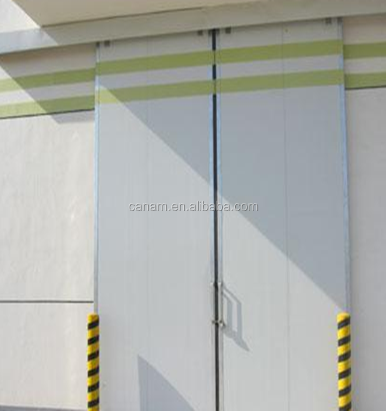 Automatic High Performance Sectional Industrial Sliding Door