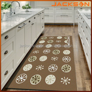 Non-woven fashion machine made kitchen counter cupboard mat made in china