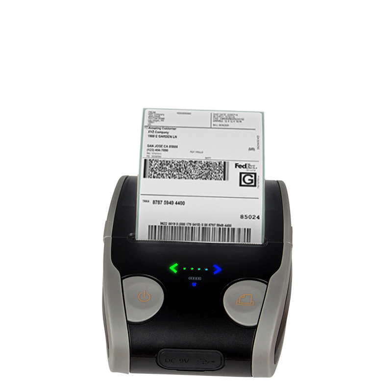 Portable Mobile Android Bluetooth Mini Barcode Label Printer