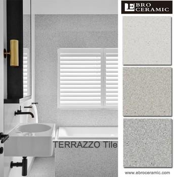 Populaire terrazzo conception 100x100 granit porcelaine for Carrelage 100x100 exterieur