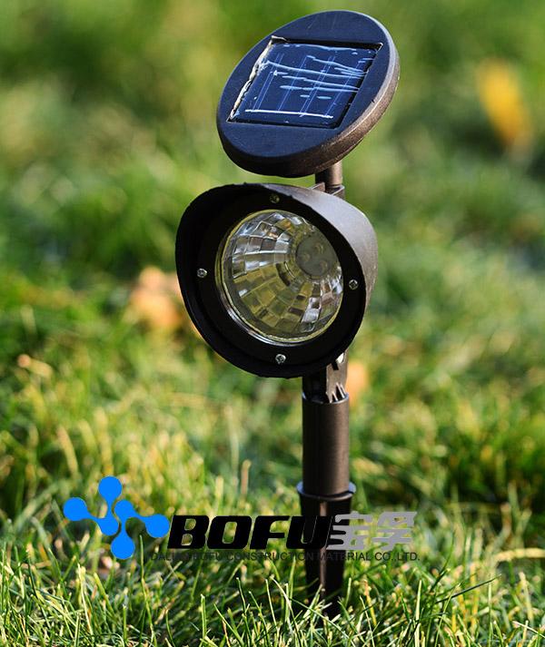 Jard n de luz solar solar led garden light luces solares for Iluminacion para jardines energia solar