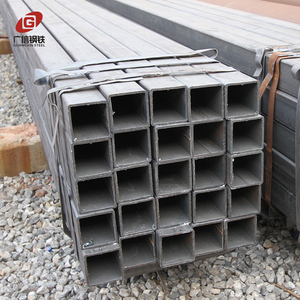 lowest price square hollow section pre galvanized steel tube