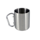 Double wall Stainless Steel Carabiner Cup Travel Water Tea Coffee Mug
