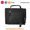 Black Large Capacity Travel Kit Waterproof Cosmetic Bag With Many Compartments For Men & Women