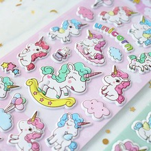 Myway Leuke Cartoon Stickers Foam Puffy Custom <span class=keywords><strong>3d</strong></span> Stickers Voor Kids