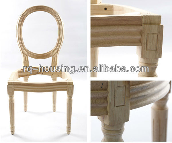French Style Louis Chair Frame Hot Selling Rq-2064a