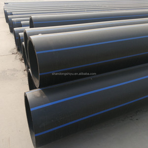 PN10 - PN20 HDPE PE100 Water Supply Tube 400mm