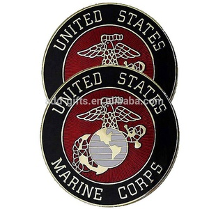wholesale promotional customized navy army challenge coins usmc for sale with hard enamel