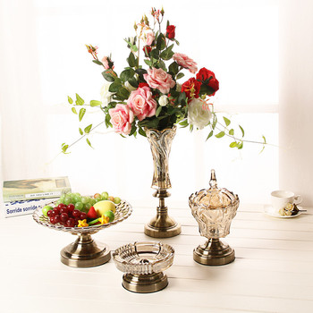 Alibaba & Best Selling Tall Clear Glass VaseCharming Table Decoration Flower Vase CenterpieceClear Tall Standing Glass Vases - Buy Flower Shaped Glass ...