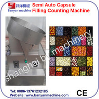 YB-50BSL Shanghai Manufacturer New Design Single Plate Capsule / Tablet Counting Machine