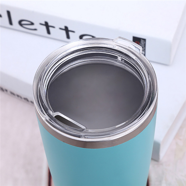 Double Wall Vacuum Travel Mug 20 oz tumbler for Coffee with lid