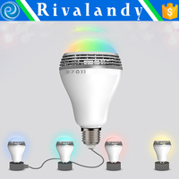 New product jhw-v169 bulb wireless speaker with led light