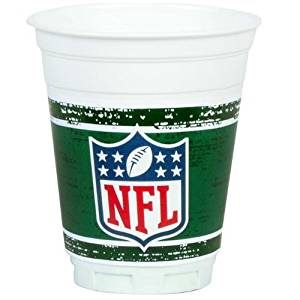 NFL Party Zone 14 oz. Plastic Cups (8)