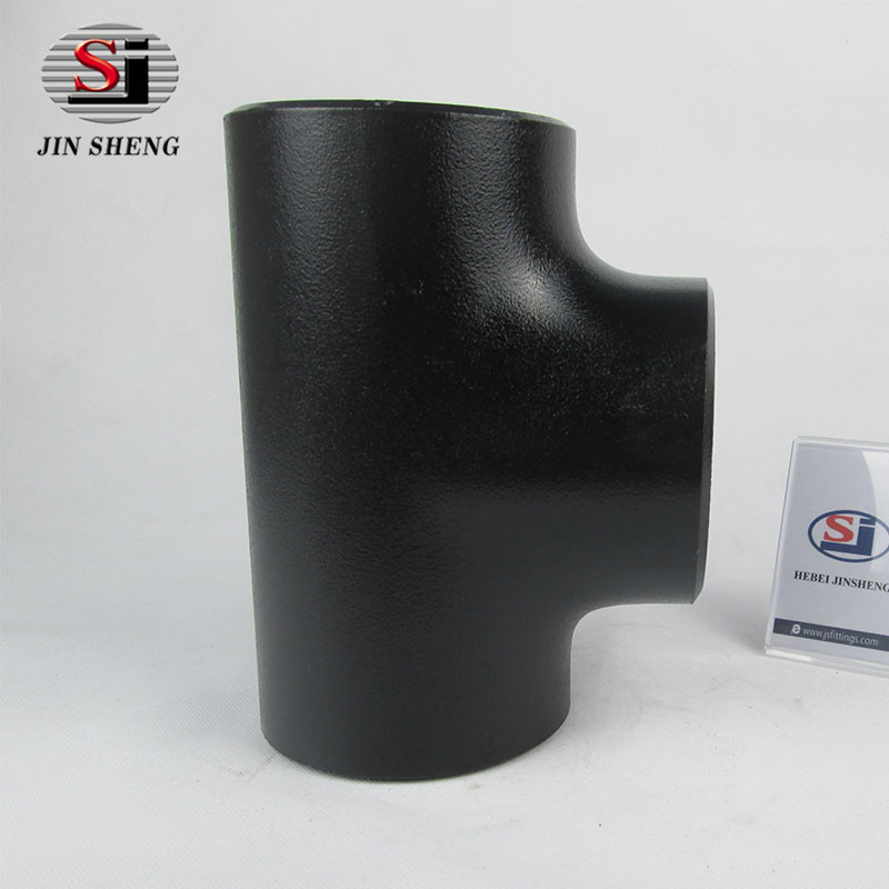 standard asme b16.9 carbon steel lateral tee