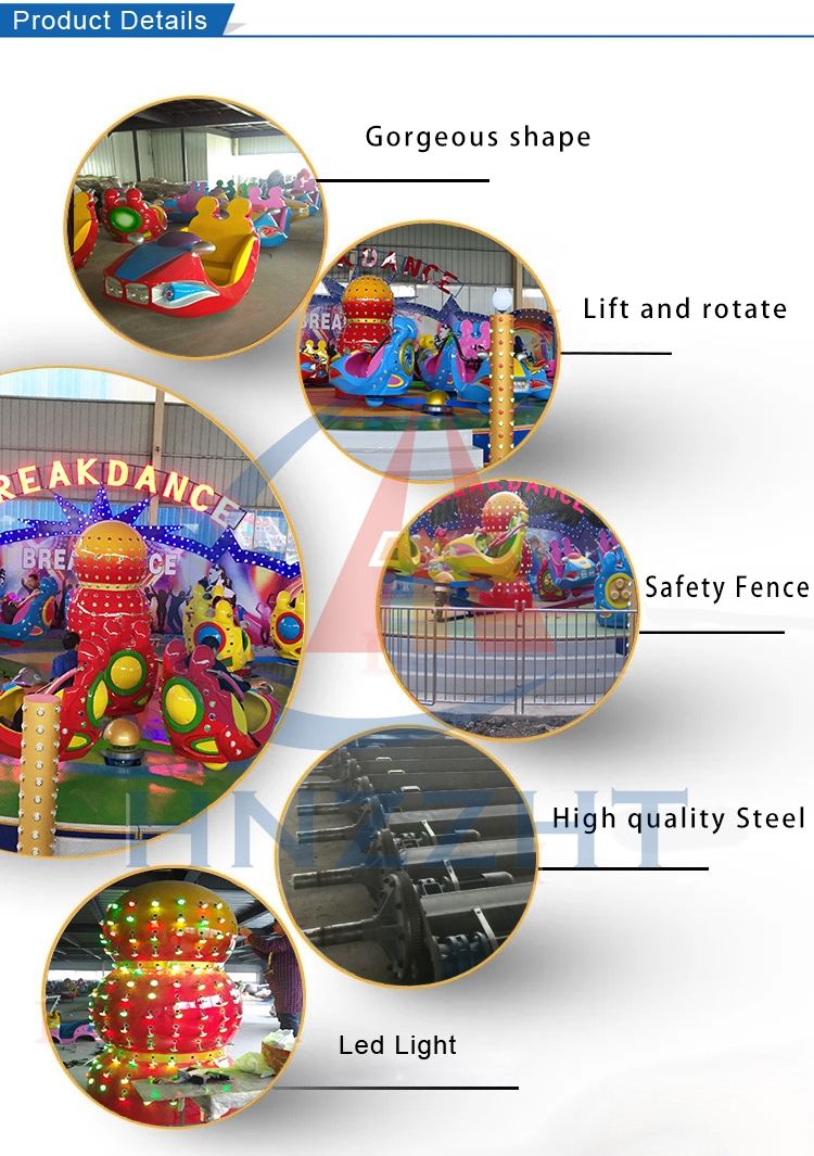 Super exciting items cheap amusement park attraction crazy break dance rides for sale