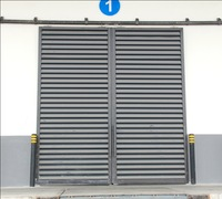 Chinese Supplier steel Industrial Automatic Warehouse Sliding Door