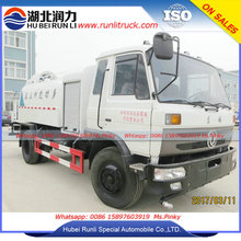 Hubei Runli 50m Water Fog Cannon Dust Suppression Sprayer Truck for industry floating dust pollutions 8000Liters Water Tank