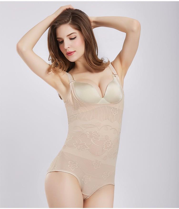 Off Shoulder Skinny Bandages Solid Womens Jumpsuit Bodysuits Black/Nude Bodysuit Sexy Body Women 3