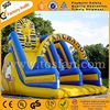 Funny games China inflatable playground inflatable slide A4003