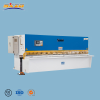 2019 New CE QC12K 4x3200 steel rod plate hot billet shearing machine specification for coil cutting to length line