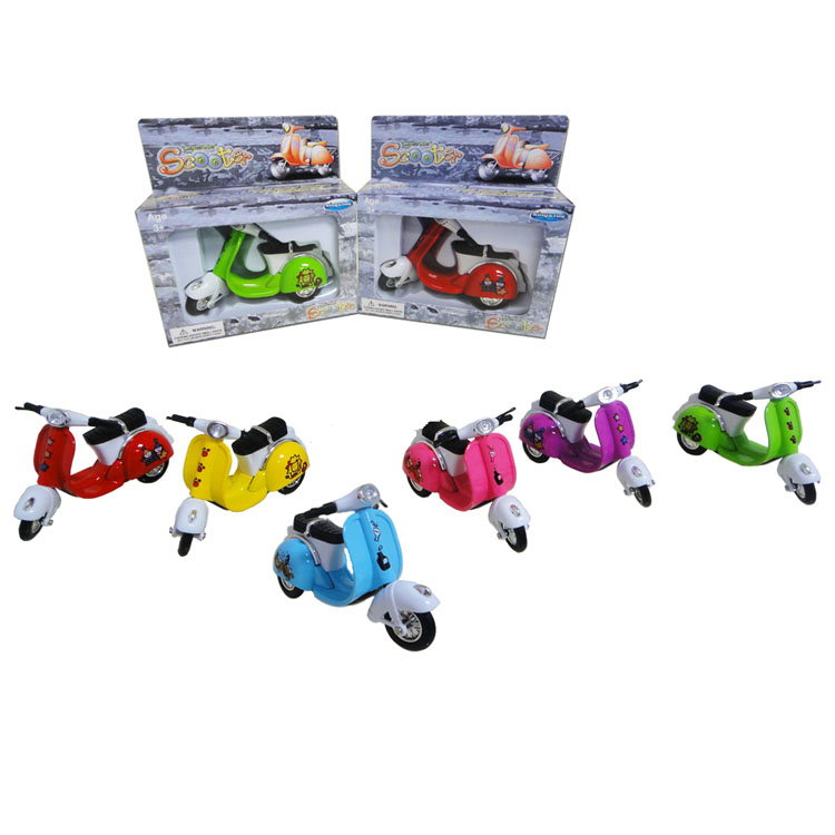 Good quality die cast  pull back toy motorcycle model toy for children