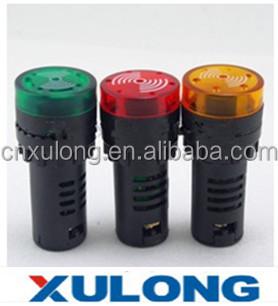 Wholesale AD16-22SM 12V 24V 110V 220V Flashing Buzzer 22MM LED ...