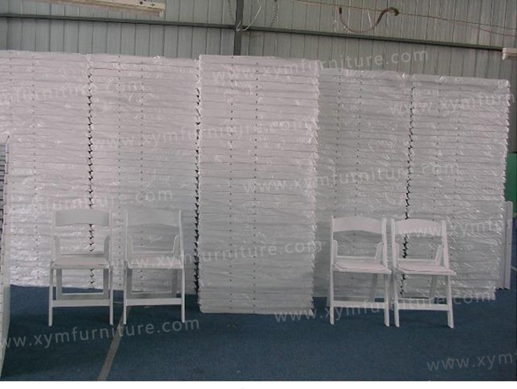 outdoor wedding party resin folding chair