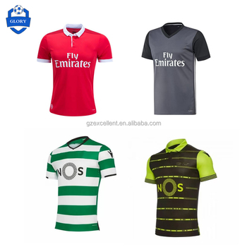 check out bf173 6736b Hot Wholesale Thai Quality 2017 2018 Sporting Lisbon Benfica Soccer Jersey  - Buy Benfica Soccer Jersey,Lisbon Jersey,Benfica Jersey Product on ...