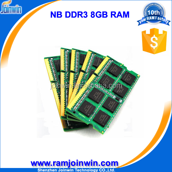 Payment terms T/T 1600mhz notebook ram ddr3 8gb