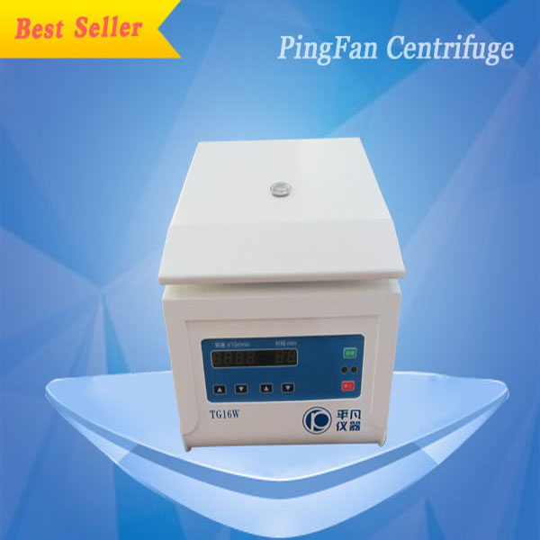 TG16W high speed laboratory medical micro centerfuge /micro centerfuge adjustble speed
