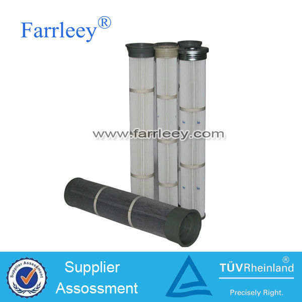 Farrleey pleated air pulse jet bag filtration polyester filter bag