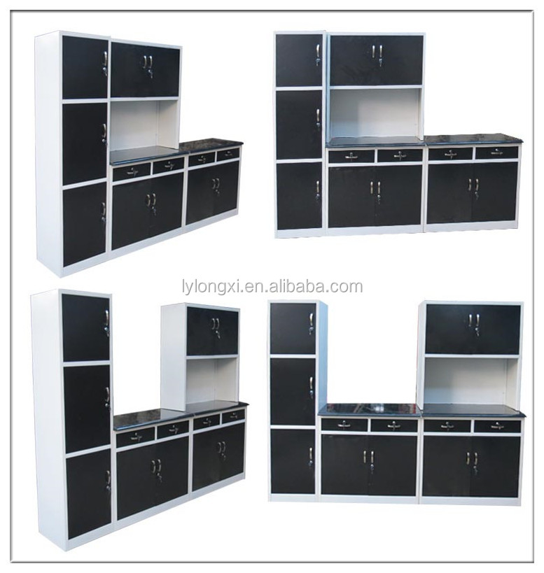 Cheap Kitchen Cabinet/ Metal Kitchen Cabinet Simple Designs/steel ...