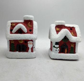 Beleuchtete Bilder Weihnachten.Weihnachten Miniatur Häuser Mit Wechselnden Licht Weihnachten Figuren Beleuchtete Häuser Keramik Weihnachten Häuser Buy Weihnachten Figuren