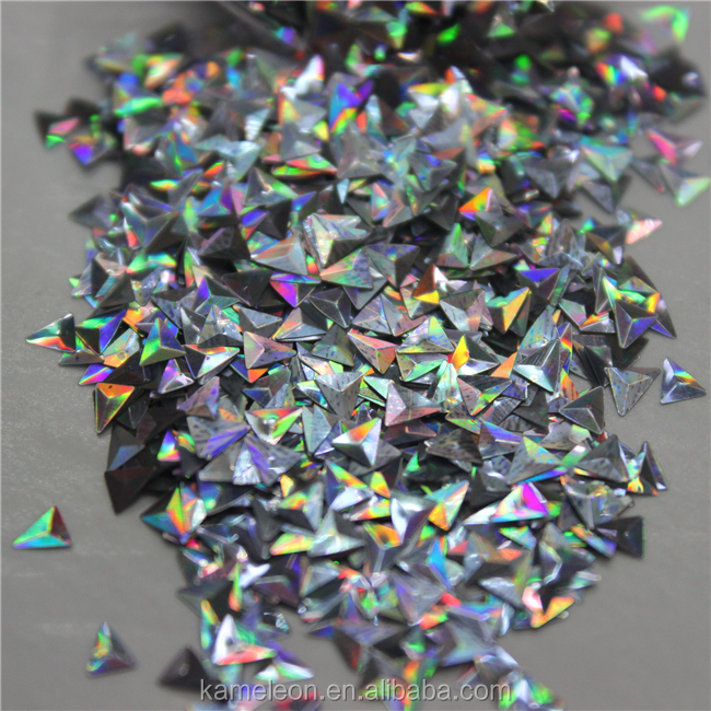 Ultrafine irregular piece cosmetic laser holographic glitter