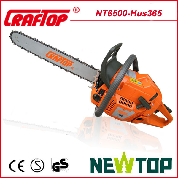 hand gas chainsaw 65CC CE approved NT6500