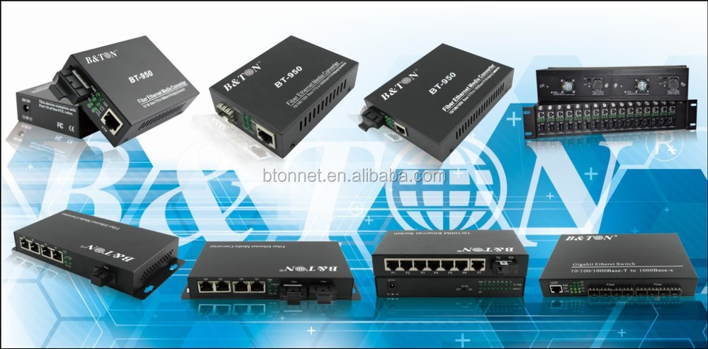 2v1d Bnc To Fiber Video Converter (audio Data Switch Function Can ...