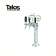 TALOS Classic Tap Tower Chrome 3-way Dispensing Tower Draft Beer Tower