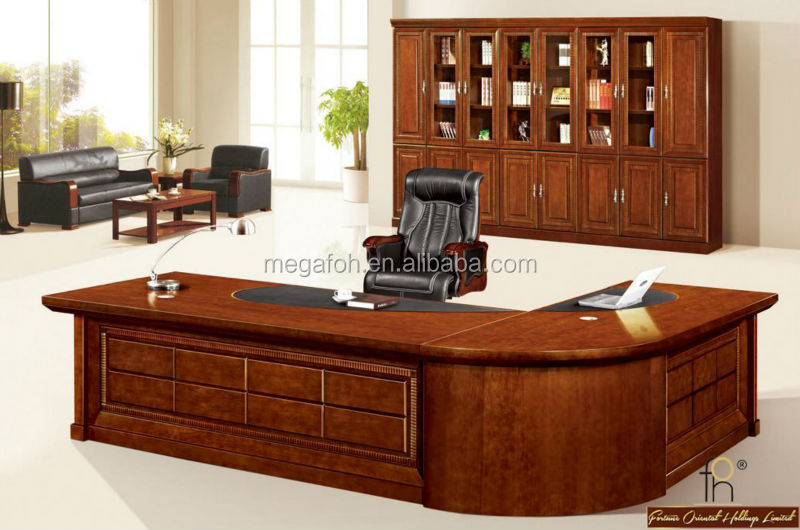 High End Ceo Office Desk Cl Executive Table With Chair Fohs A3276