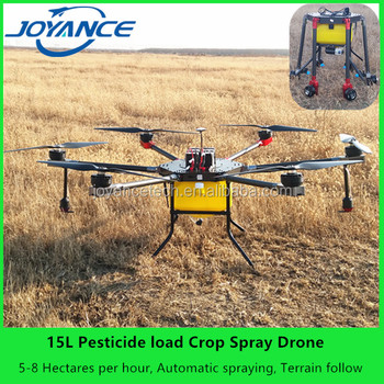 Joyance 15 Liters Carbon Fiber Big Drones For Sale Uav Payload Agriculture Drone