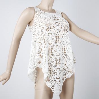 جرب أو حاول نقطة البداية التحية Camiseta Crochet Mujer Amitie Franco Malgache Org