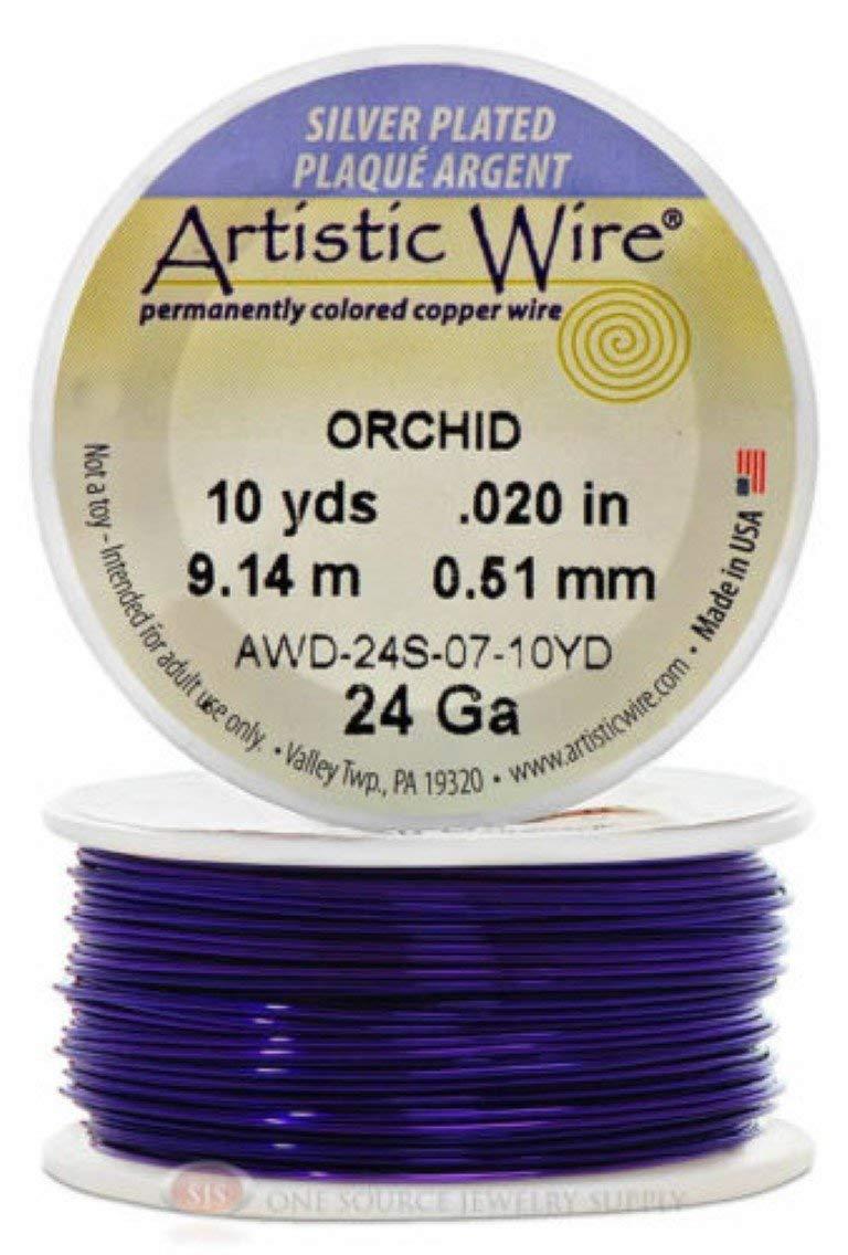 Beadalon 20-Yards Artistic 24-Gauge Wire Purple