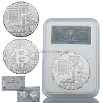 Wr bitcoin lembrana moeda de prata comemorativa arte artesanato wr bitcoin lembrana moeda de prata comemorativa arte artesanato casa decorativo caso moeda de prata banhado ccuart Gallery