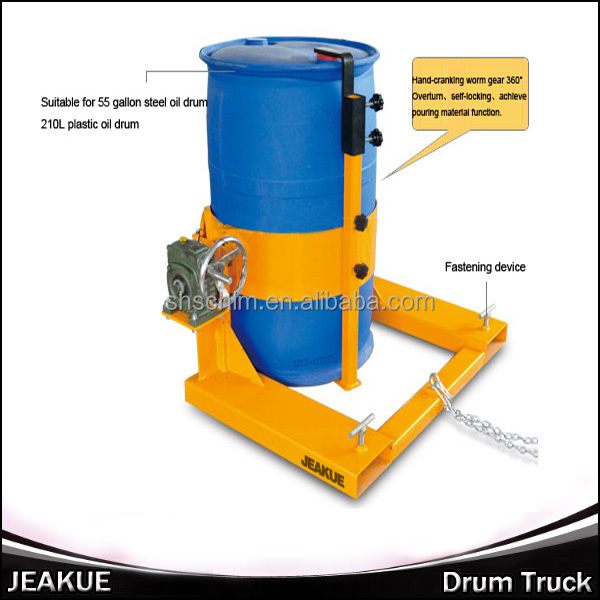 Clamp Forklift Controls : Newest kg oil drum carrier forklift clamp