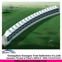 Guangzhou manufacture quality garden shed membrane structure marquee