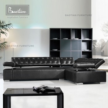 Latest Designs 2015 Modern Leather Sofa Set Furniture Philippines