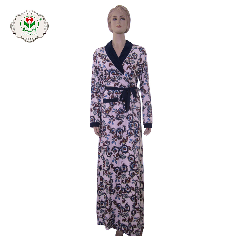 Private label lady nightgown black and white pajamas wholesale