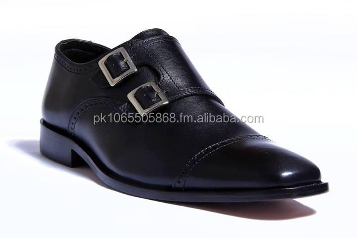 Lazari Black Authentic Double shoes Strap Oxford Cowhide wqfgBwSp