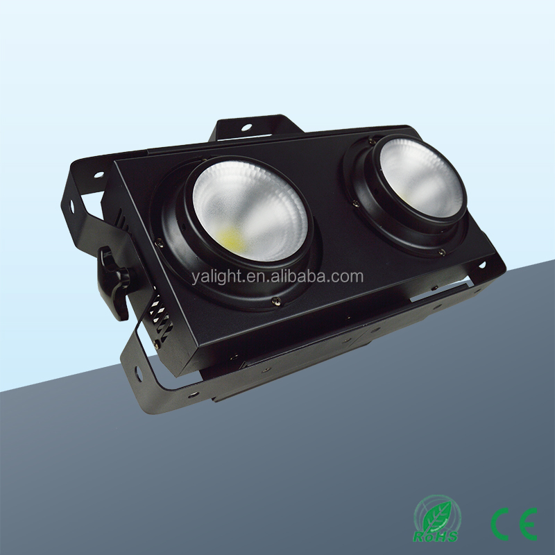 2 Eyes LED Audience Blinder COB 2X100W worm white or cool white